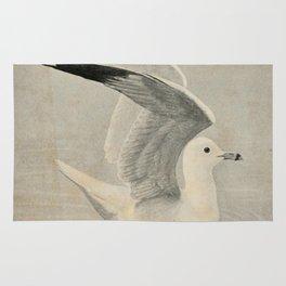 Vintage Illustration of a Seagull (1902) Rug