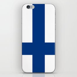 Flag of Finland - High Quality Image iPhone Skin