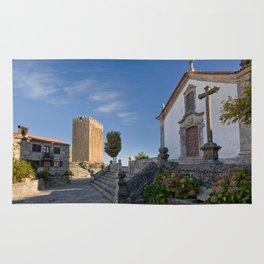 Linhares castle, Portugal Rug