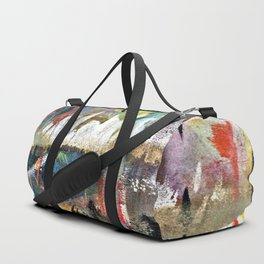 Colorful Bohemian Abstract 3 Duffle Bag