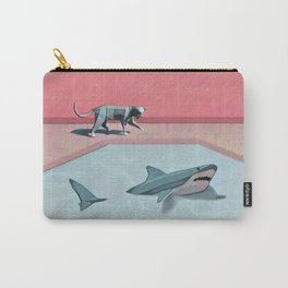 Shark and Kitty Carry-All Pouch