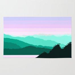 Mountain Landscape Rug