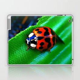 Ladybug on Leave Laptop & iPad Skin