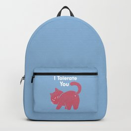 I Tolerate You Backpack