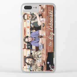 The Big Lebowski Clear iPhone Case