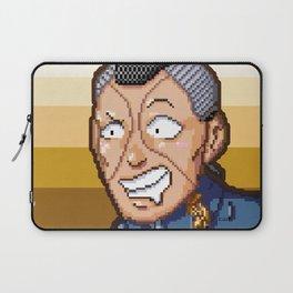 JJBA - Okuyasu Nijimura Pixel Art Laptop Sleeve