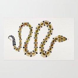 Olive Serpent Rug