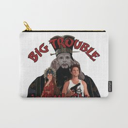 """""""Big Trouble"""" Carry-All Pouch"""