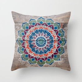 Joey Mandala Throw Pillow