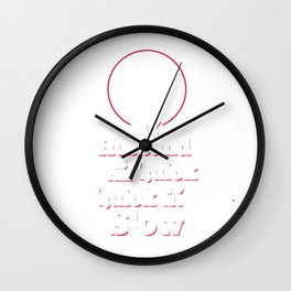 My Husband is the Quick Quick Funny Dancing T-shirt Wall Clock
