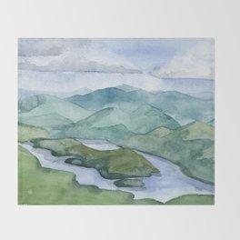 Lake Placid Throw Blanket