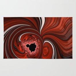Heart of the Mandelbrot - Fractal Art Rug