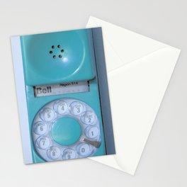 Aqua Hotline Stationery Cards