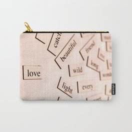 Love (Un)Defined Carry-All Pouch
