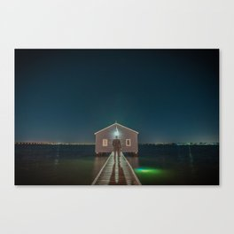 The Boat House 3 Canvas Print