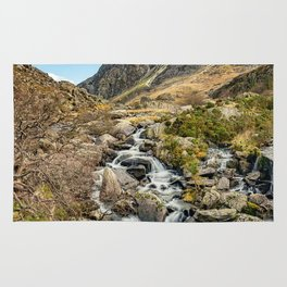 Tryfan and Ogwen Falls Rug