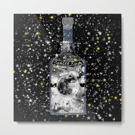 Spaced Rum Metal Print