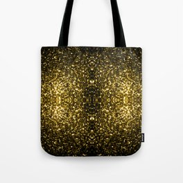 Beautiful Yellow Gold sparkles Tote Bag