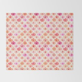 BEWBS Boobs Scale Pattern Throw Blanket