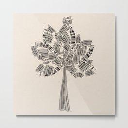 UPC Tree Metal Print