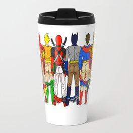 Superhero Butts Travel Mug