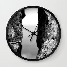Between The Edge Wall Clock