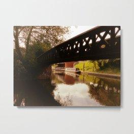 Canal Dreams Metal Print