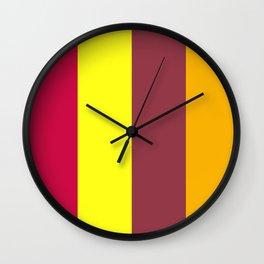 XRAY - PHONETIC COLOUR ALPHABET Wall Clock