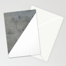 Concrete Vs White Stationery Cards