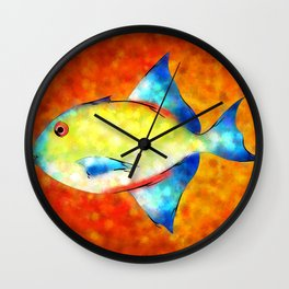 Esperimentoza - gorgeous fish Wall Clock