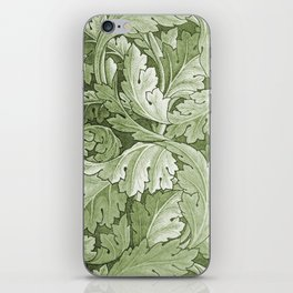 Celery Green Acanthus Plant iPhone Skin