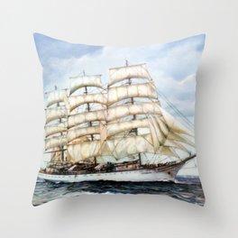 Regata Cutty Sark/Cutty Sark Tall Ships' Race Throw Pillow