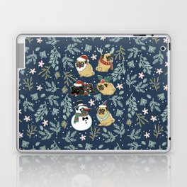 Christmas Pugs Laptop & iPad Skin