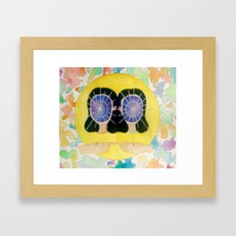 Star Twins Framed Art Print