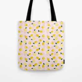 Lemon Vibes Tote Bag