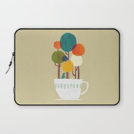 Life in a cup Laptop Sleeve