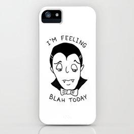 Dracu-blah iPhone Case