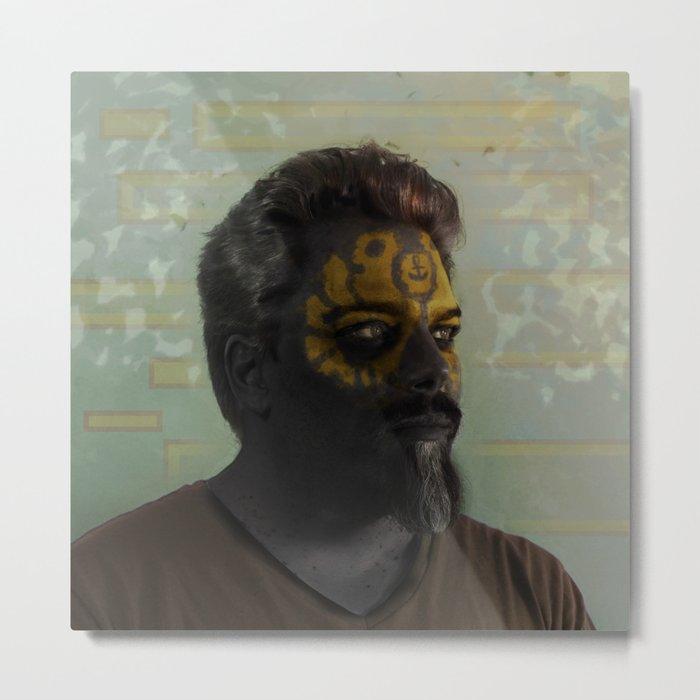 Self as Psychopomp #digitalart #digitalphotography Metal Print