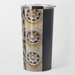 Wood Carving Travel Mug