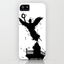 El Angel de la Independencia iPhone Case