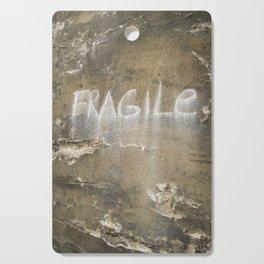 Fragile city Cutting Board