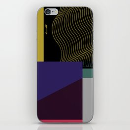Segments #4 iPhone Skin