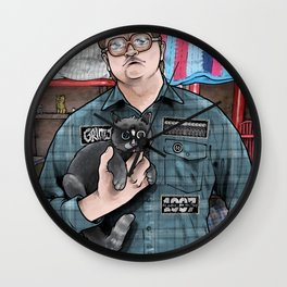 TPB BUBBLES Wall Clock