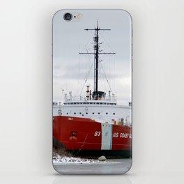 USCG Cutter Mackinaw 83 iPhone Skin