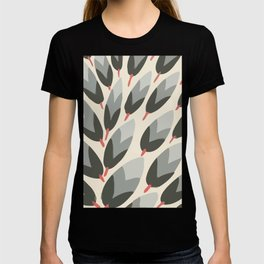 Vintage pattern abstract and minimal T-shirt
