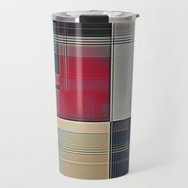 Lines/Abstract Q1 Travel Mug
