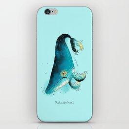 Triste dyr: Katastrohval iPhone Skin