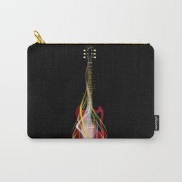 Burning Solid Electric Guitar Carry-All Pouch