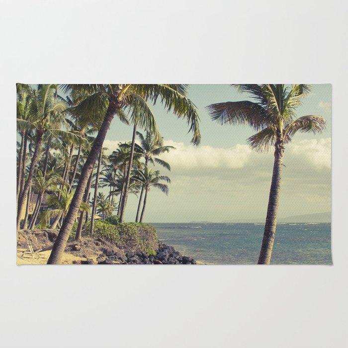Maui Lu Beach Kihei Maui Hawaii Rug