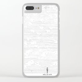 Mira un avión Clear iPhone Case